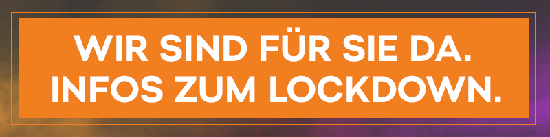 Aktuelle Informationen zum Lockdown