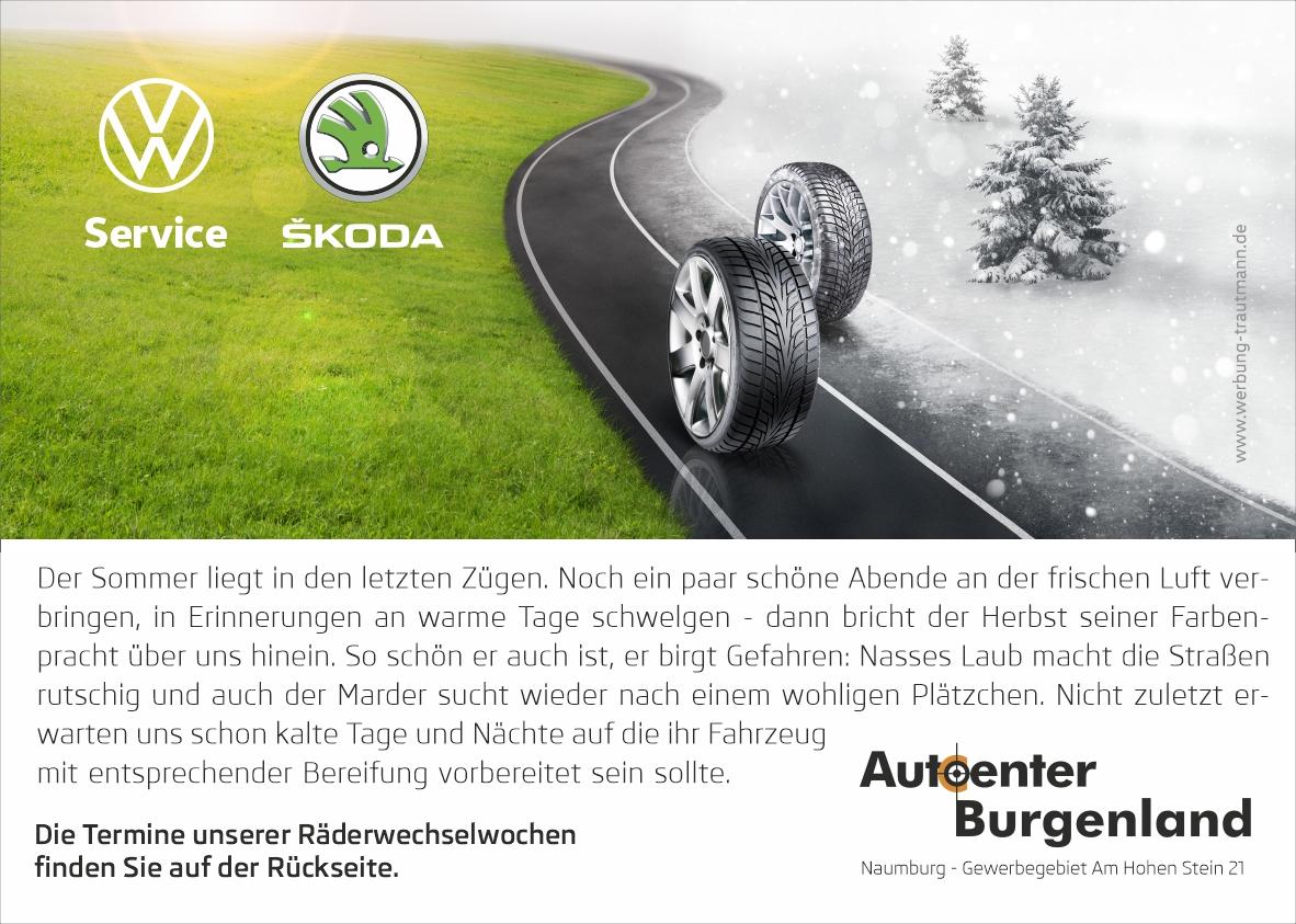 Räderwechselwochen im Herbst 2020
