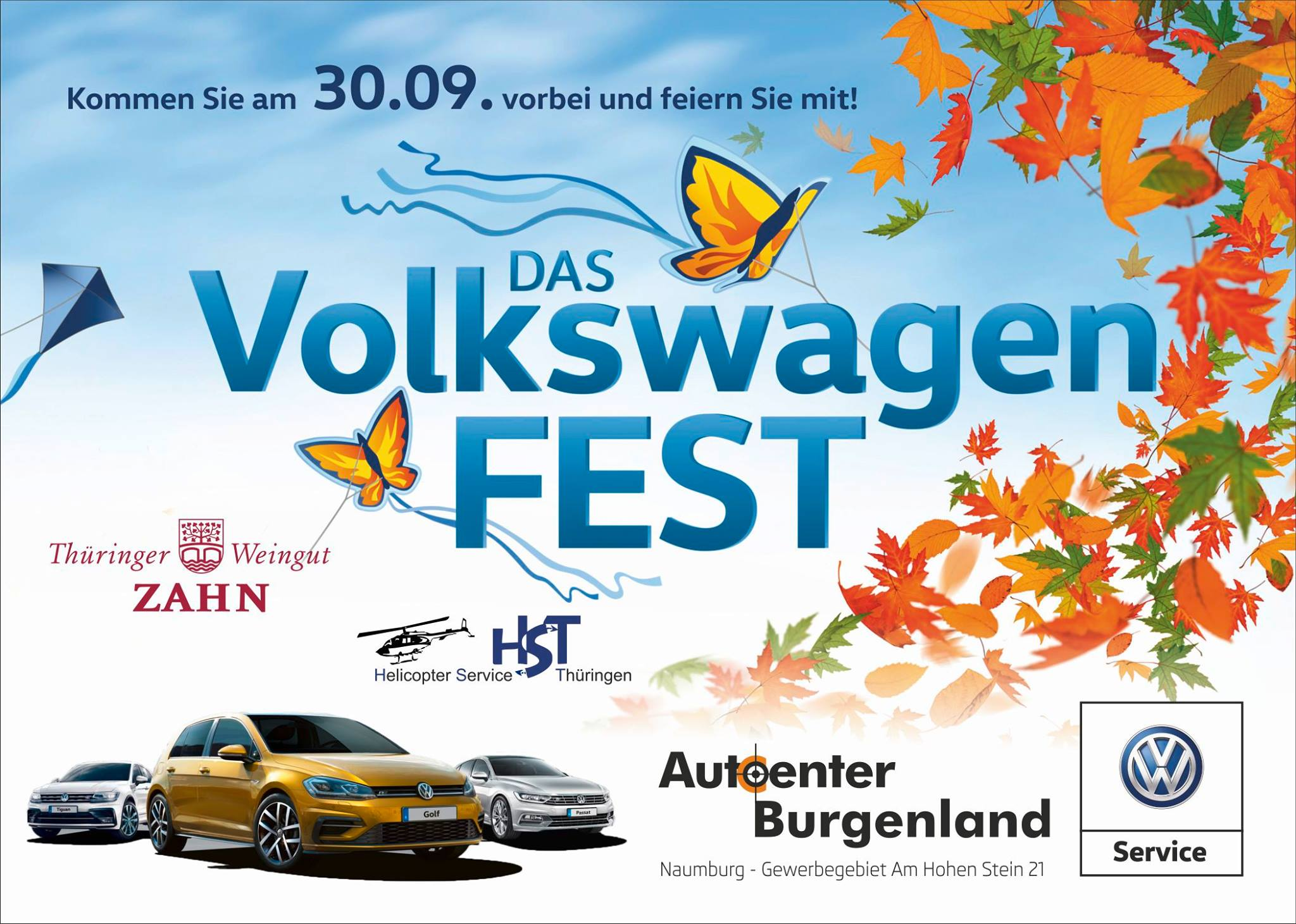Das Volkswagenfest am 30.09
